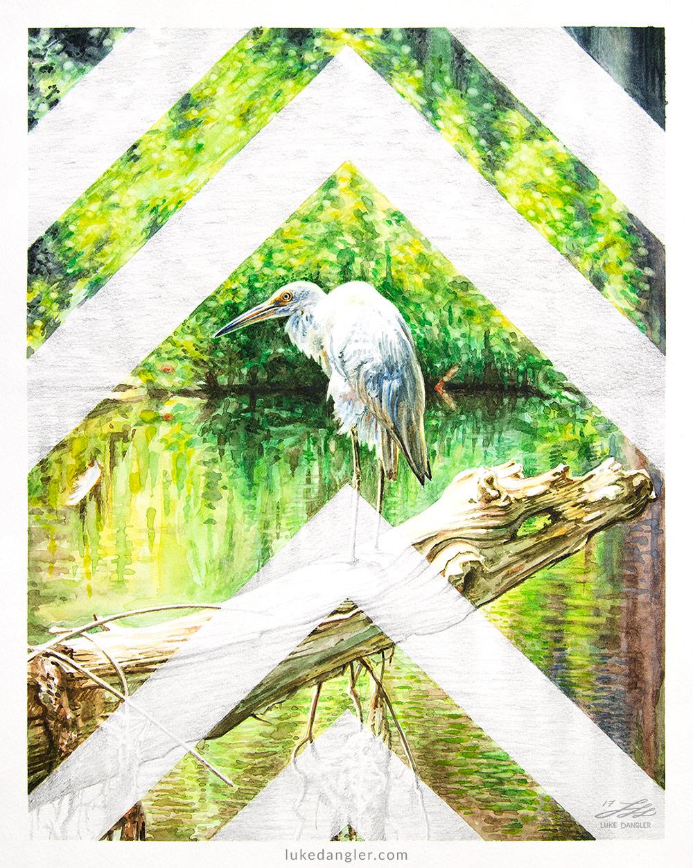 The Bird - Watercolor