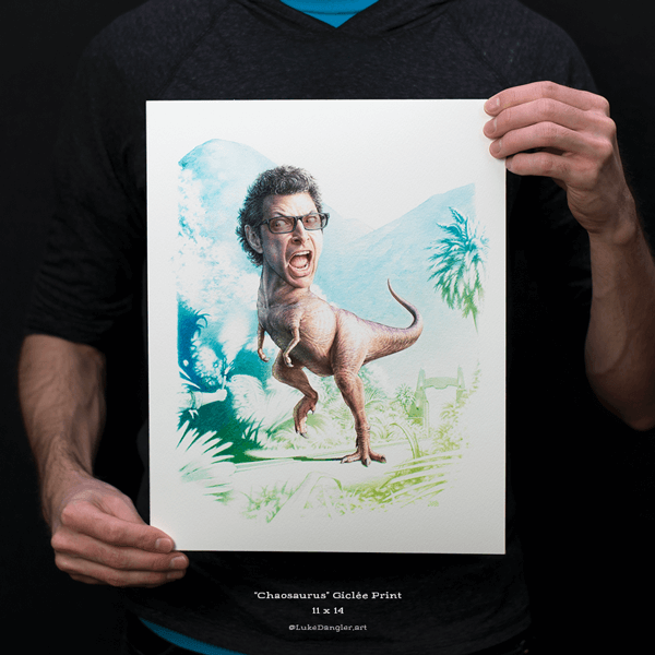 Chaosaurus Print 11x14