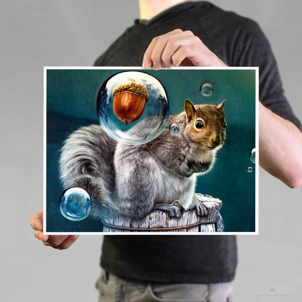 Squirrel Power Print 11 x 14