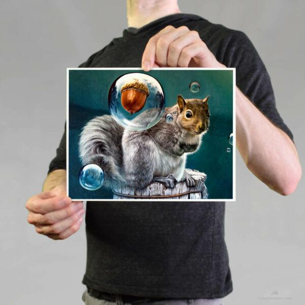 Squirrel Power Print 8 x 10