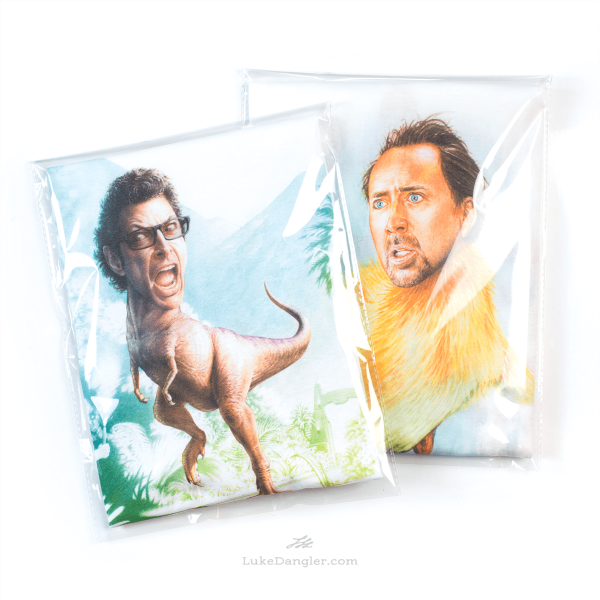 Jeff Goldblum Dinosaur Shirt Package