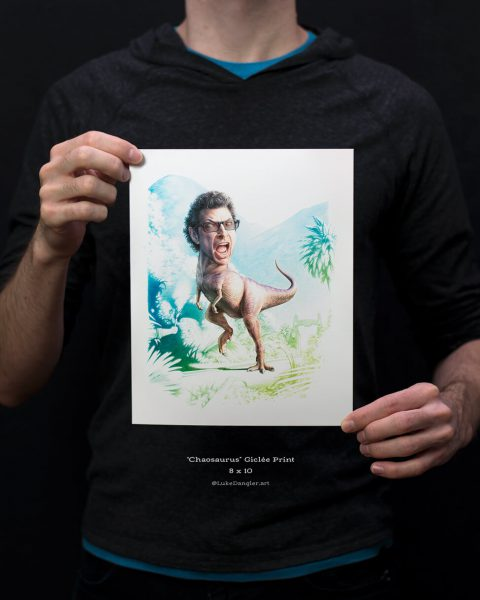 Chaosaurus Print