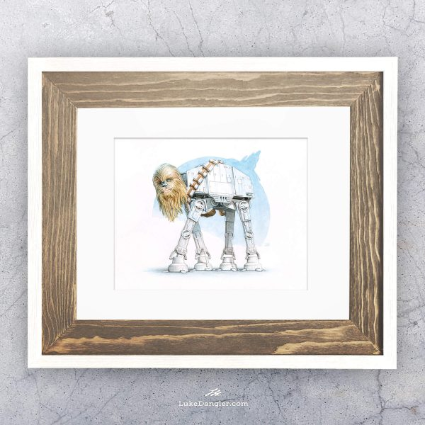 Chewalkka Print Framed