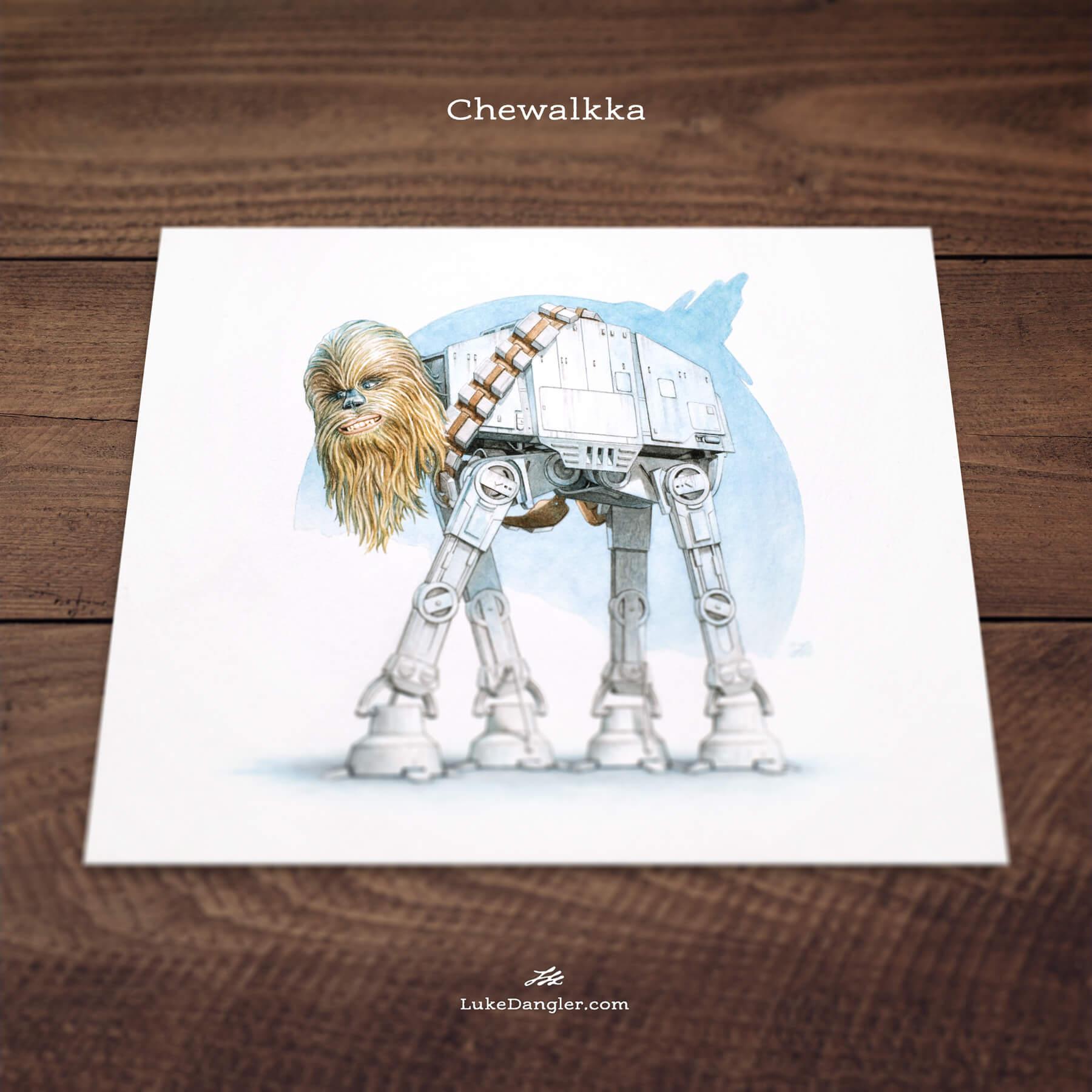 Chewalkka Print