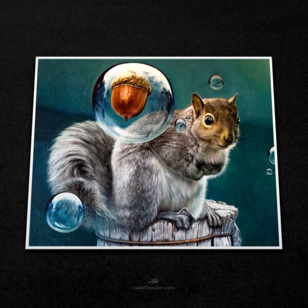 Squirrel Power Print