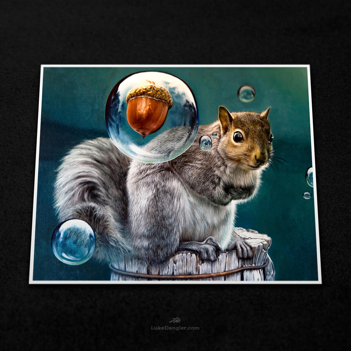 Squirrel Power Print