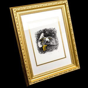 American Eagle Print Framed