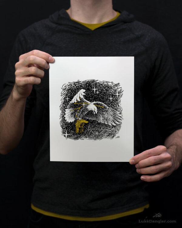 American Eagle Print 8x10