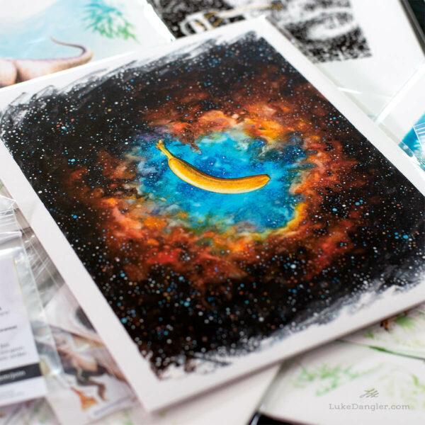 The Nanner Nebula Print