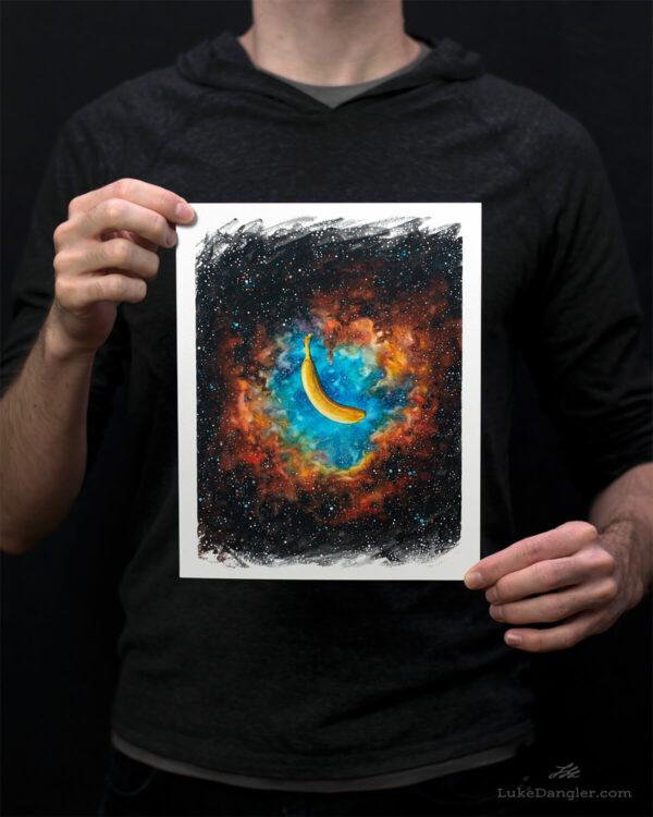 The Nanner Nebula Print - 8x10
