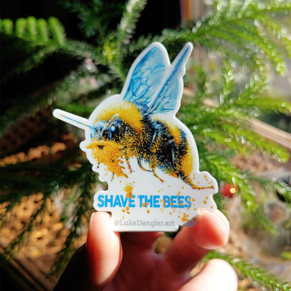 Beeard Sticker