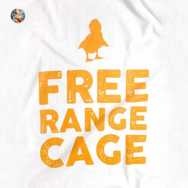 Nicolas Cage Duck Shirt Back
