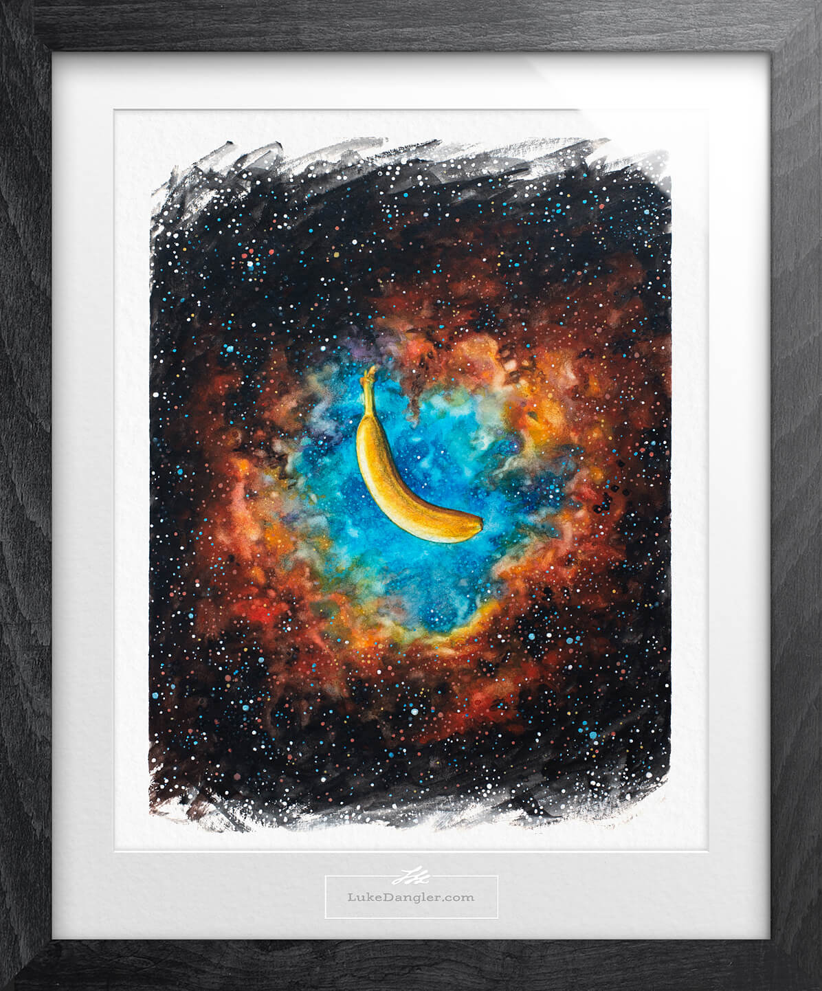 Space Banana Painting