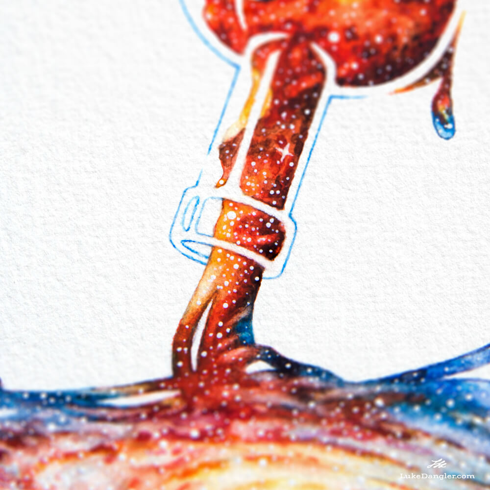 Infinity Painting detail