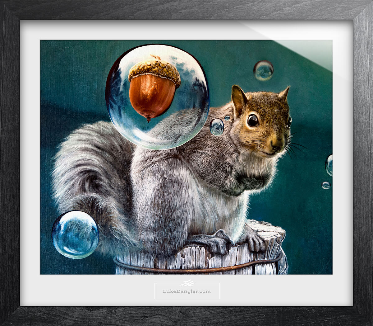 Squirrel Power Painting