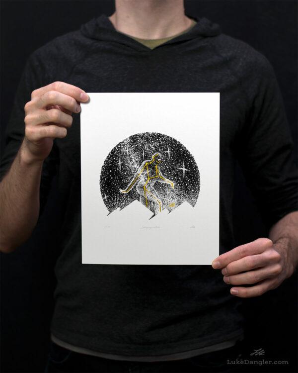 Skysquatch Print 8x10