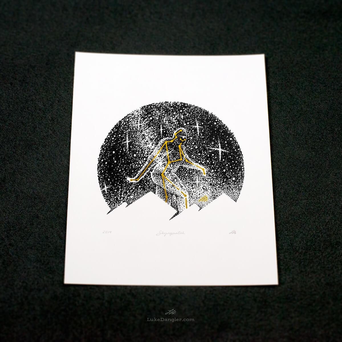 Skysquatch Print