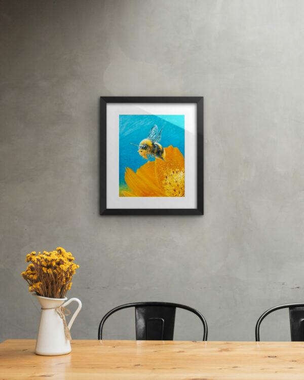 Beeard Print Framed