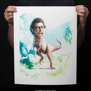 Chaosaurus 16x20 print