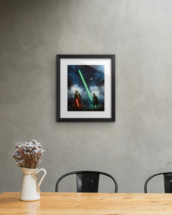 Impressive Print Framed