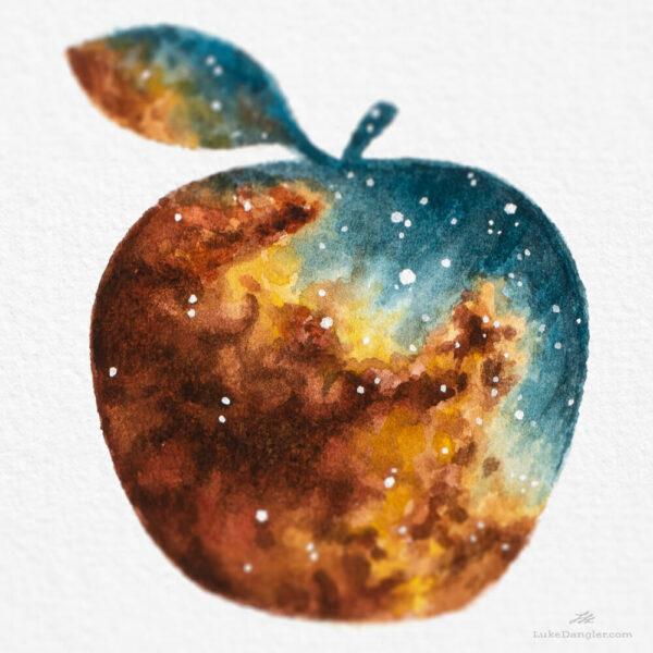 Applesauce closeup