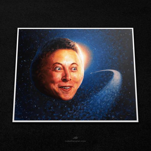 To Infinity & Elon Print