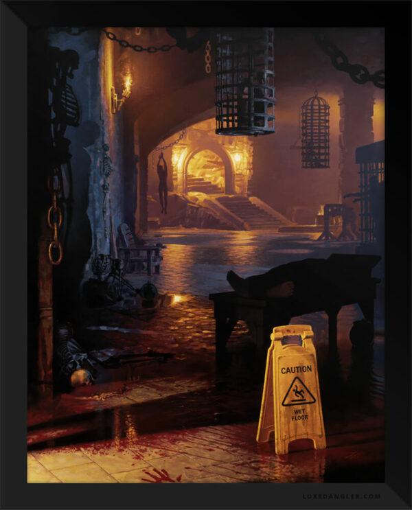 Night Shift Dungeon Print